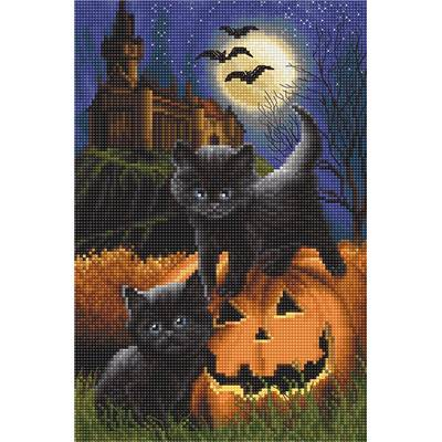 Did We Scare You ?- Kit point de croix Halloween - LETISTITCH