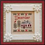 Cottage of the month : Décembre - Country Cottage Needleworks