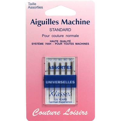 Aiguilles machine universelles assorties