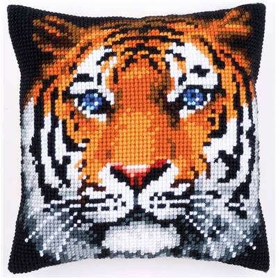 Tigre - kit Coussin gros trous - Vervaco
