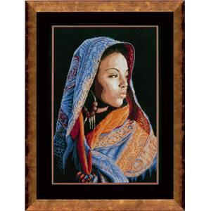 <div class=alt><div class=desc><h2>Kit de broderie au point de croix dame africaine habits bleus- lanarte</h2></a><br>Kit de broderie lanarte de dimensions 32 cm x 48 cm, représentant une dame africaine avec le bleu comme couleur majeure. le kit comprend toile aïda, diagramme, fils et aiguille. <br><br></div></div>